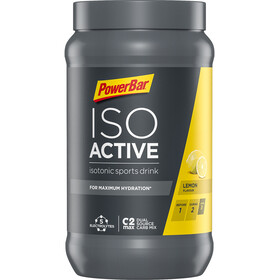 PowerBar Isoactive Isotonic Sports Drink Bøtte 600g, Lemon
